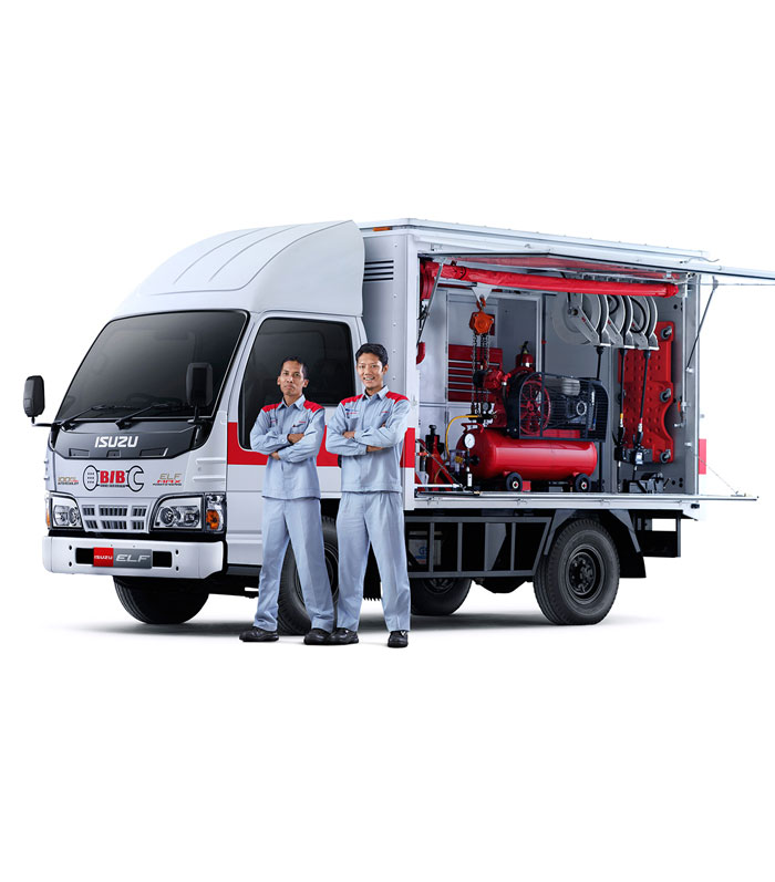 Isuzu-ELF-Mobile-Service-Unit